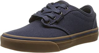 Vans Kids Atwood (10 oz Canvas) Navy/Gum Skate Shoe 4 Kids US
