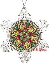 Seamless Floral Pattern On Uniform Christmas Ornaments,Christmas Tree Decoration Ornaments,Christmas Keepsake 2020 Xmas Gi...
