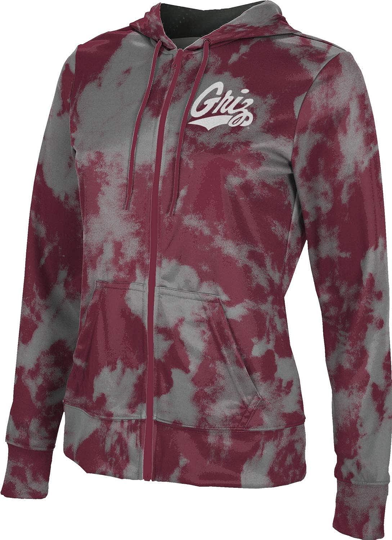 ProSphere University of Montana Girls' Zipper Hoodie, School Spirit Sweatshirt (Grunge)
