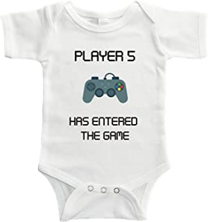 Player 5 Has Entered The Game Bodysuit for Third Child