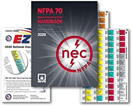 National Electrical Code (NEC) Handbook (Hardcover), EZ Tabs (Color Coded) and Formula Guide 2020 Ed