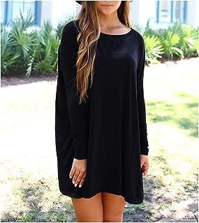Women's Original Long Sleeve Tunic-Black-small