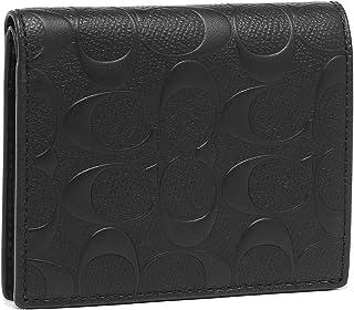 [コーチ] COACH 財布 (二つ折り財布) F11970 ブラック BLK シグネチャー レザー 長財布 メンズ [アウトレット品] [並行輸入品]