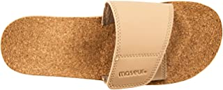 Maseur Gentle Massage Sandal Beige Size 7