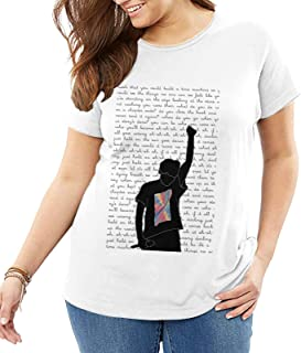 Louis Tomlinson T-Shirt Woman'S Big and Tall tee Summer Breathable Tops