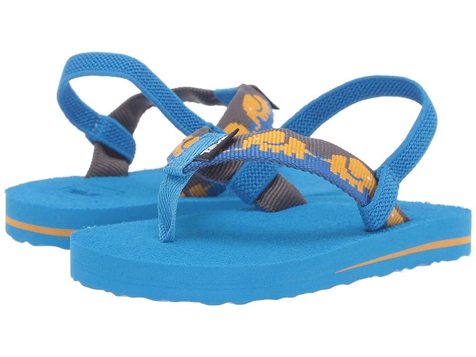 af76c6efb Teva Kids Mush II (Toddler) (Elephants Brilliant Blue) Boys Shoes