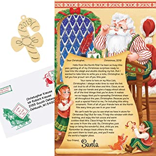 HOLIDAY PEAK Personalized Letter from Santa and Ornament