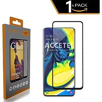 FMPC [2-Pack Protector Pantalla Samsung Galaxy A80, Cristal Vidrio ...