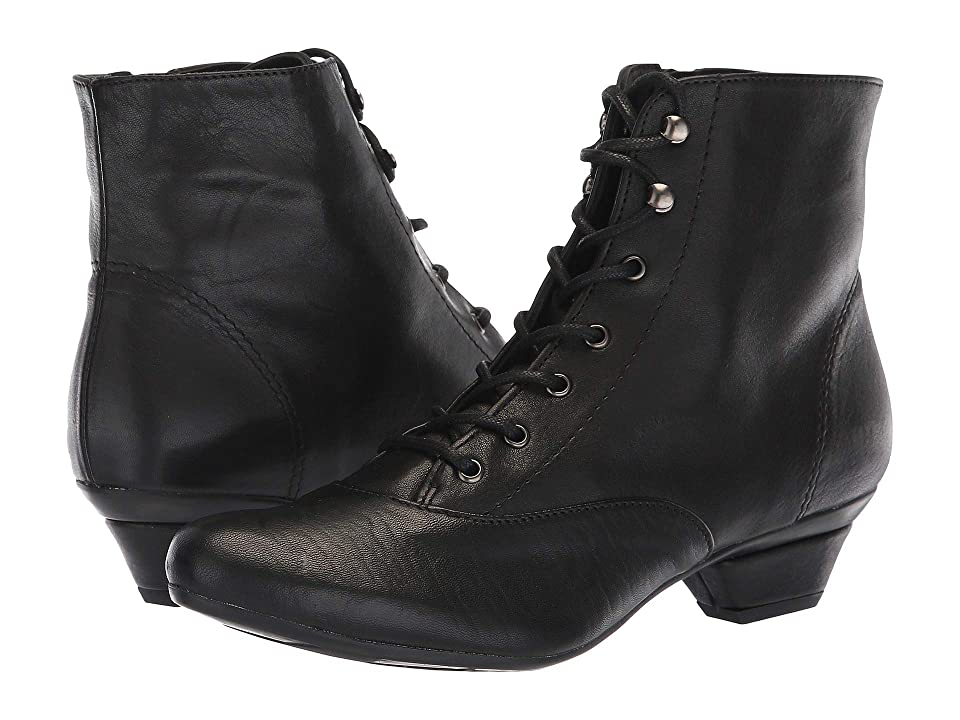 Retro Boots, Granny Boots, 70s Boots Eric Michael Disco Black Womens Shoes $189.00 AT vintagedancer.com