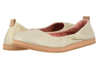 TOMS Olivia (Natural Shimmer Canvas) Women