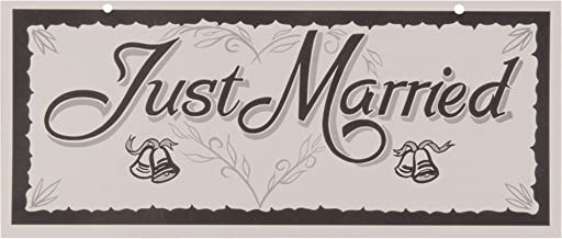 Weddingstar 164-10 Just Married License Plate by Weddingstar Inc.