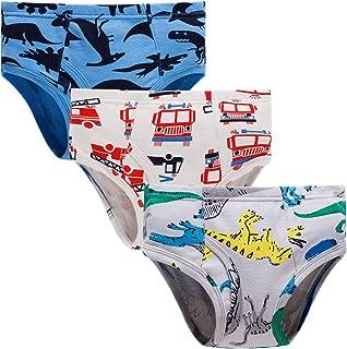 Little Boys Briefs Dinosaur Shark Truck Space Toddler Kids Baby Underwear 6/3-Pack