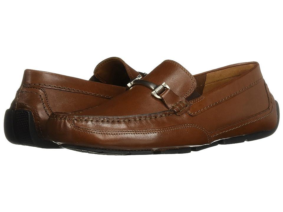 Clarks Ashmont Brace (Cognac Leather) Men