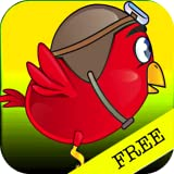Flashy Bird (not Flappy Bird)  The Clumsy Red Wings Bouncing Flyer Either Dodge or Die!