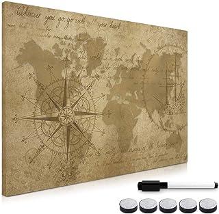 Navaris Tablero de Notas magnético - Pizarra con diseño de