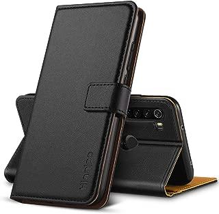 Baiyian Funda de Cuero Cartera Flip Cover para Xiaomi Mi 9T Pro Marr/ón