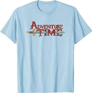 Cartoon Network Adventure Time Distressed Logo T-Shirt