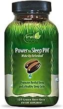 Irwin Naturals Power to Sleep PM – Relaxing Blend of Melatonin, GABA, Ashwagandha,..