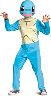 Disguise Child Pokemon Classic Squirtle Costume Size 14/16 Blue