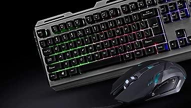 (Renewed) Zebronics Transformer Gaming Multimedia USB Keyboard and Mouse Combo (Black)