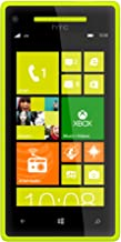 HTC 8X 8GB Unlocked GSM 4G LTE Dual-Core Windows 8 Smartphone - Lime Yellow - AT&T - No Warranty