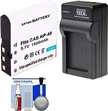 Power2000 LB-060 Rechargeable Battery with Charger + Kit for Kodak PixPro AZ361, AZ362, AZ501, AZ521, AZ522, AZ525 Digital Cameras