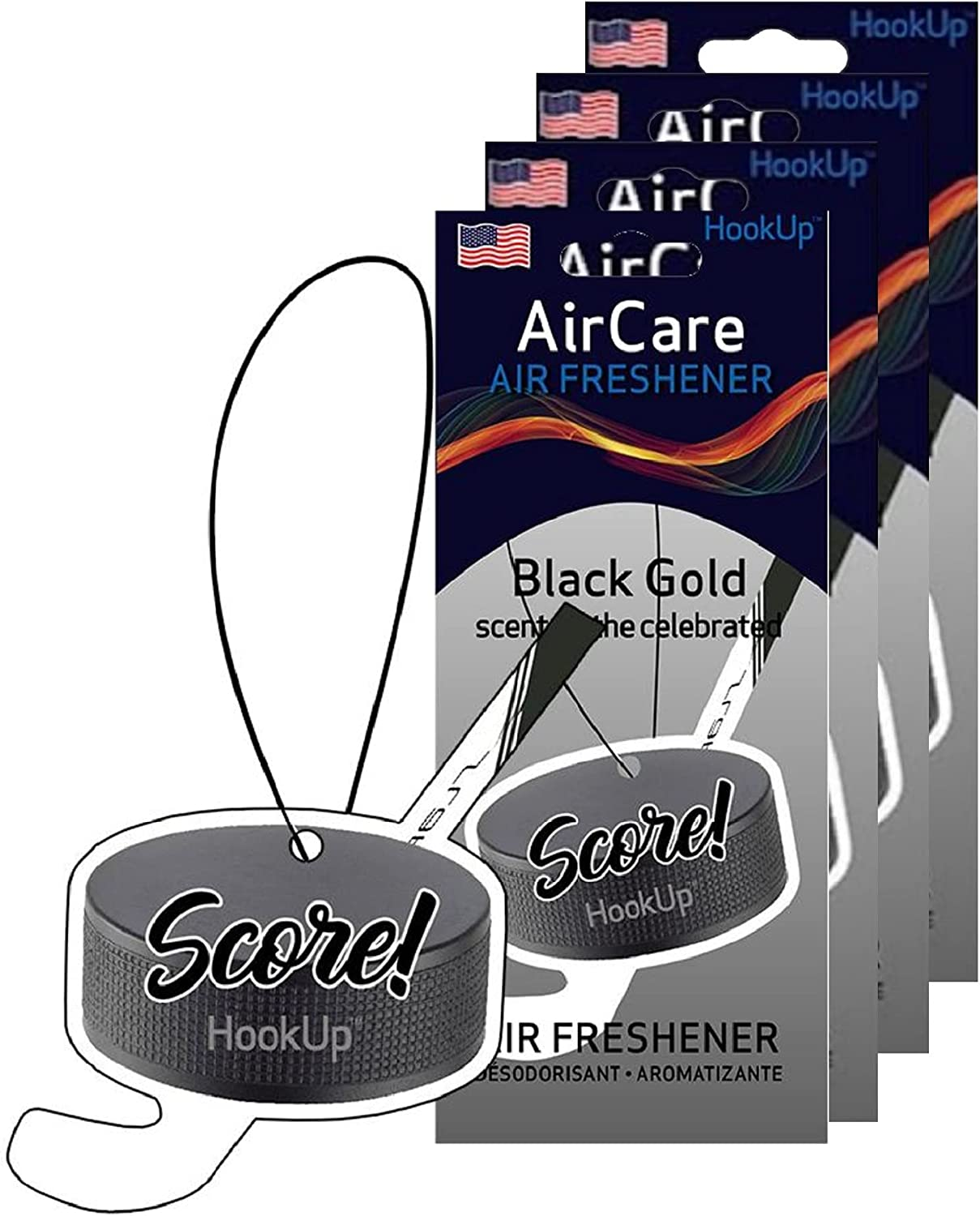 HookUp Max 66% OFF Car Air Fresheners - 4 Max 67% OFF Hanging of Themed Pack Sports