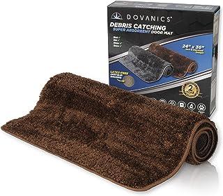 """Dovanics Washable Entry Rugs, Durable 24"""" x 36"""", Absorbent Door Mat Indoor / Outdoor, Non Slip Waterproof Rug, Debris Catc..."""