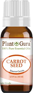 Carrot Seed Essential Oil 10 ml 100% Pure Undiluted Therapeutic Grade.