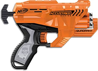 NERF Elite - Accustrike Quadrant Blaster inc 4 Official Darts - Kids Toys & Outdoor Games - Ages 8+