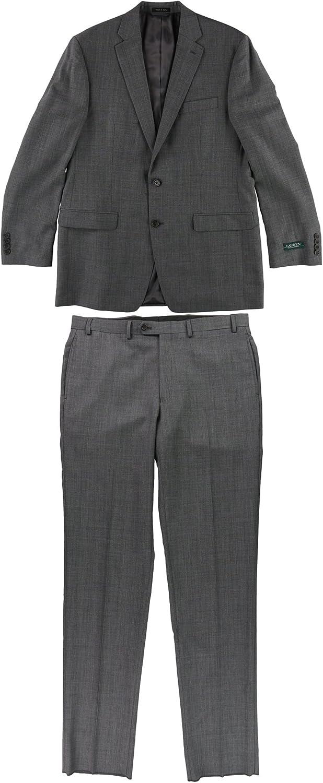 Ralph Lauren Mens Ultraflex Formal Tuxedo, Grey, 42 Long / 36W x 39L