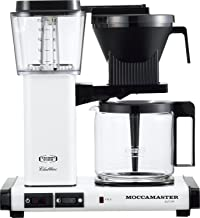 TECHNIVORM MOCCAMASTER COFFEEMAKERS MM741AO-MW (Metallic White)【Japan Domestic Genuine Products】 【Ships from Japan】