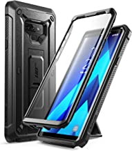 SUPCASE Unicorn Beetle PRO Series Phone Case for Samsung Galaxy Note 9, Full-Body Rugged Holster Case with Built-in SP for Samsung Galaxy Note 9 2018 (Black)