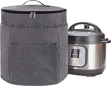 KGMCARE - Cubierta para olla a presión de 2 compartimentos, compatible con olla a presión Ninja Foodi de 8 cuartos de galón,