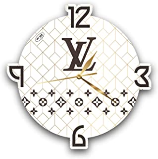 Fashion House 11'' Exclusive Wall Clock– Handmade Unique Clock for Home and Office, Original Present for Every Occasion.
