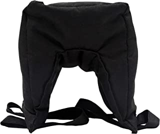 Ationgle Camera Lean Bean Bag, Multi-Purpose Support Sandbag, Camera Support Bag for Car Window, Durable Zipper, 600D Oxford Fabric, Black