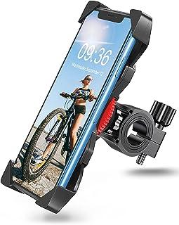 Bovon Soporte Movil Moto, Anti Vibración Soporte Movil Bicicleta Montaña con 360° Rotación para Moto, Universal Manillar C...