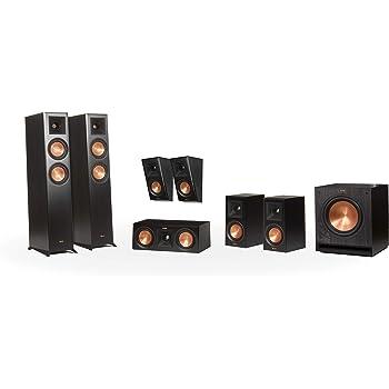 Klipsch RP-5000F 7.1 Home Theater System - Ebony