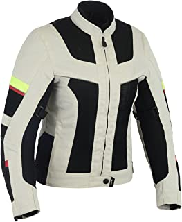LOVO Chaqueta tricapa perforada de verano para moto (Mujer) (S)