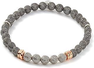 Tateossian Mens Stonehenge Metallica Bracelet