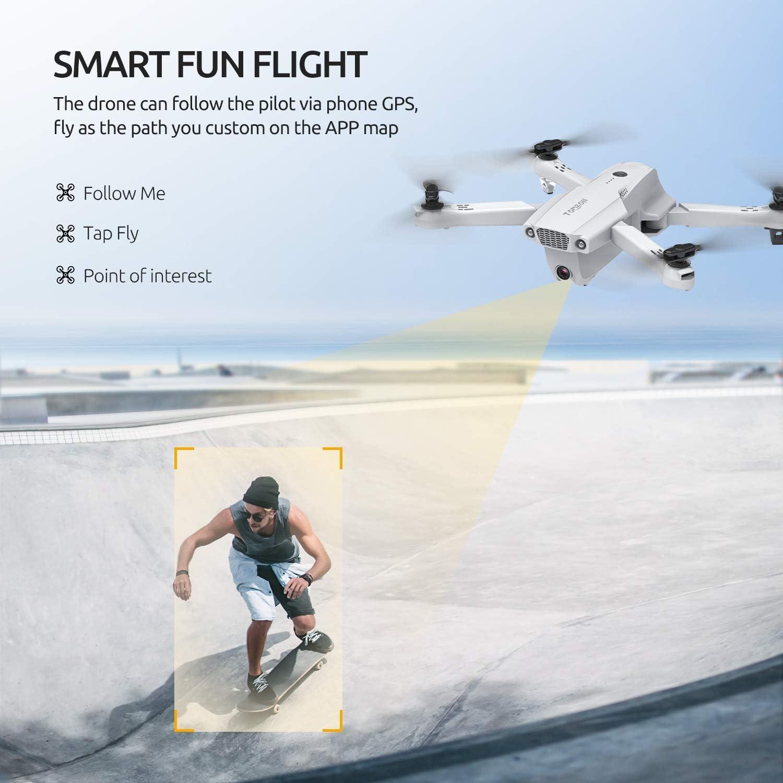 Tomzon D65 GPS Drone - Smart fun flight