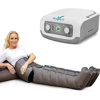 Vein Angel 4 Apparecchio per massaggi a onde con fascia addominale & gambali, 4 camere d'aria, pressione & durata facilmente regolabili, no pressoterapia
