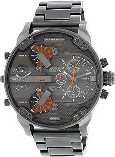 Diesel Men's Mr. Daddy DZ7315 Gunmetal Stainless-Steel Quartz Fashion Watch