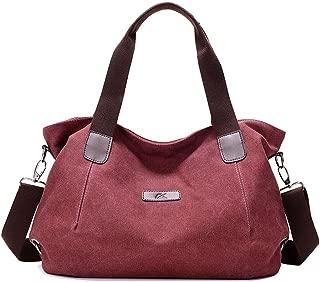 KARRESLY Women's Casual Hobo Shoulder Bags Canvas Daily Crossbody Tote Work Shopper Handbag Purses