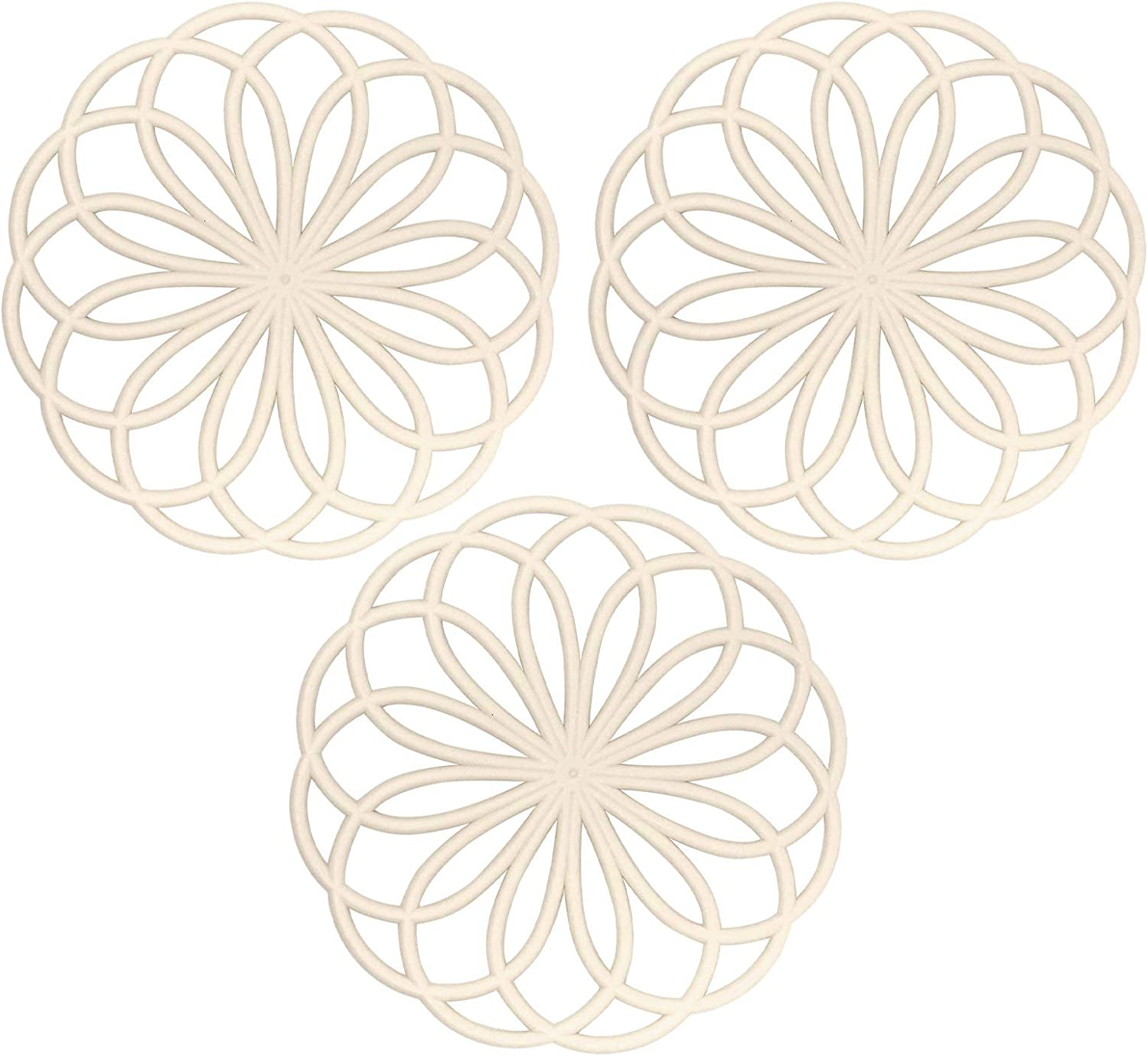 Large special price Silicone Nashville-Davidson Mall Trivets for Hot Pots and Du Set Insulated Pans Non-Slip