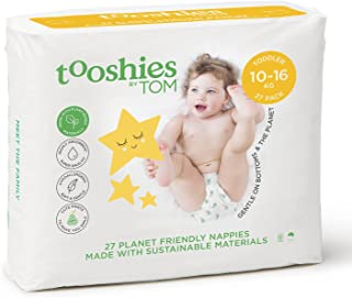 Tooshies by TOM eco Nappies - Toddler Size 4 (27pk)
