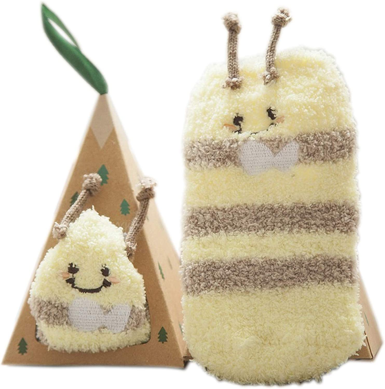 ENATRENDY Baby Socks Cute Newborn 2021new shipping free shipping for Year-end gift Animal Slipper