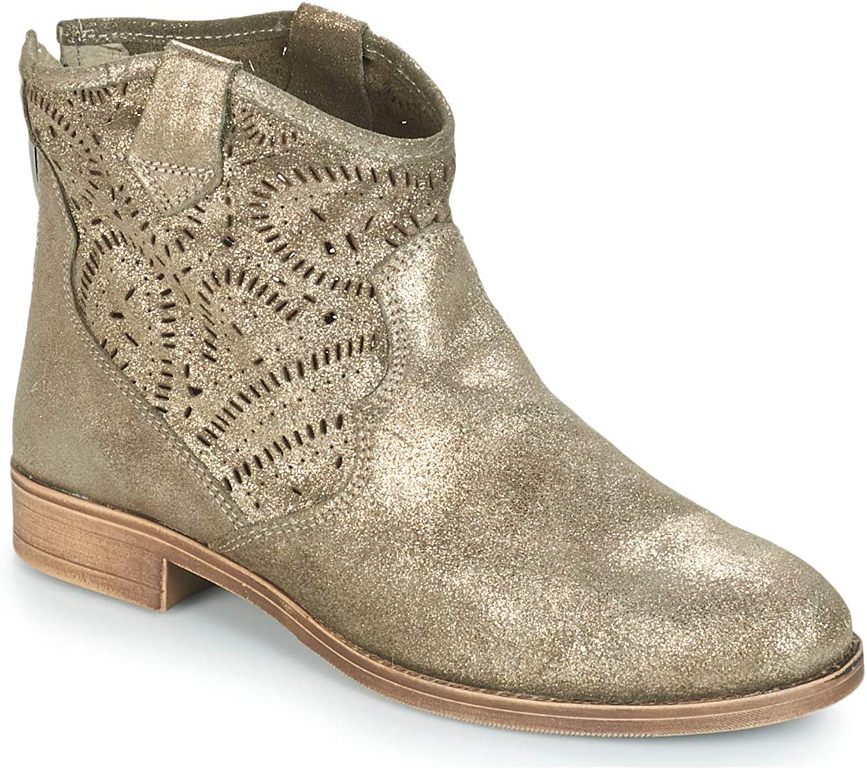 André Bambina Stiefelletten Stiefel Damen Bronze - 36 - Stiefel