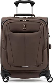 Travelpro Maxlite 5 Lightweight International Carry-on Expandable Softside Luggage Mocha, 19-inch