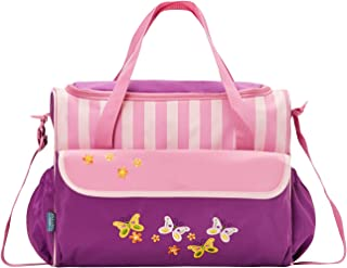 SoHo Animals Diaper Tote Bag 10Pc Value, Butterfly